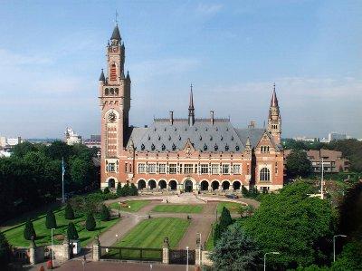 A Hágai Nemzetközi Bíróság épülete